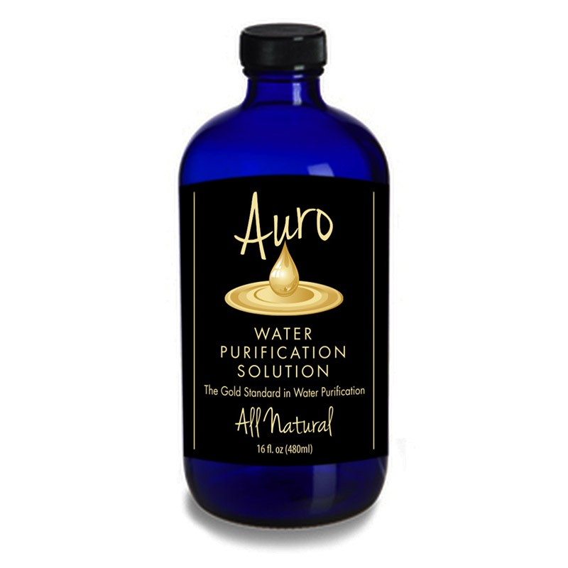 Auro Liquid Gold Water Purification 16 oz